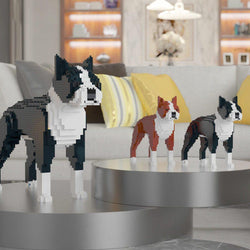 Boston Terrier Dog Sculptures - LAminifigs