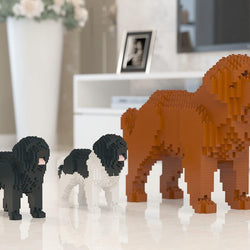 Newfoundland Dog Sculptures - LAminifigs