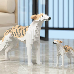 Whippet Dog Sculptures - LAminifigs