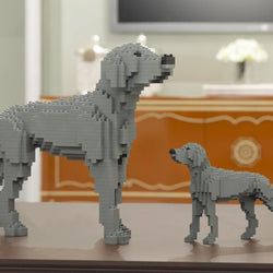 Weimaraner Dog Sculptures - LAminifigs