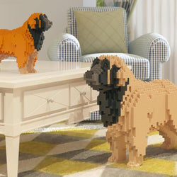 Leonberger Dog Sculptures - LAminifigs