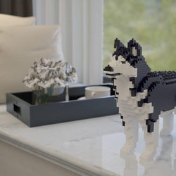 Husky Dog Sculptures - LAminifigs