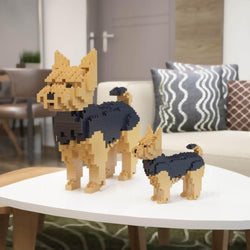 Yorkshire Terrier Dog Sculptures - LAminifigs
