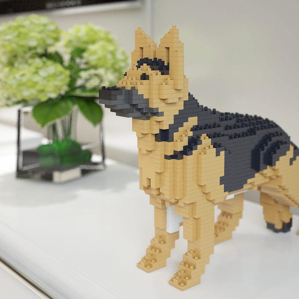German Shepherd Dog Sculptures - LAminifigs