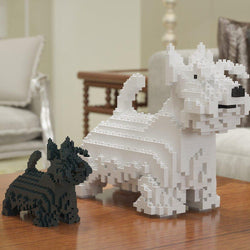 Scottish Terrier Dog Sculptures - LAminifigs