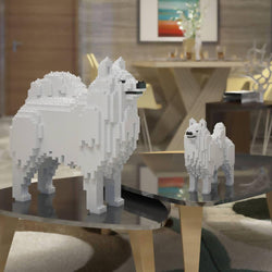 Samoyed Dog Sculptures - LAminifigs