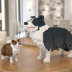 Border Collie Dog Sculptures - LAminifigs