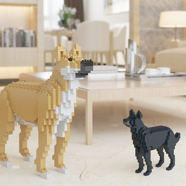 Mongrel Dog Sculptures - LAminifigs