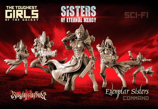Exemplar Sisters - Command Group - LAminifigs