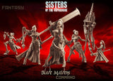 Blade Maidens - Command Group - LAminifigs