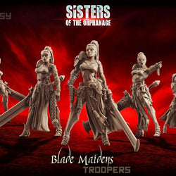 Blade Maidens - Troops - LAminifigs
