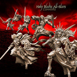 Holy Blades All-Stars - COMMAND Group - LAminifigs