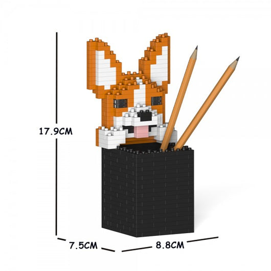 Welsh Corgi Pencil Cup - LAminifigs
