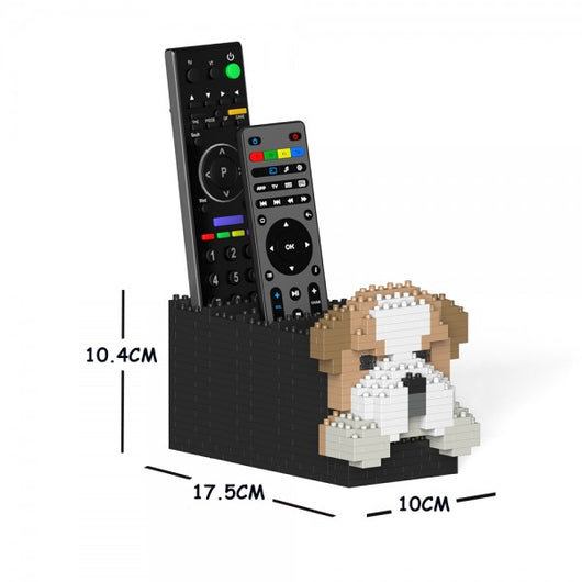 English Bulldog Remote Control Rack - LAminifigs