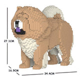 Chow Chow Dog Sculptures - LAminifigs