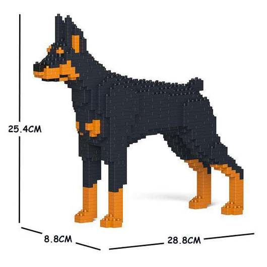 Doberman Pinscher Dog Sculptures - LAminifigs