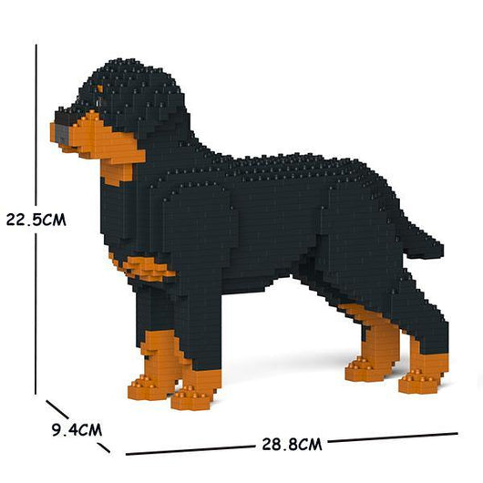 Rottweiler Dog Sculptures - LAminifigs