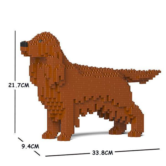 Irish Setter Dog Sculptures - LAminifigs