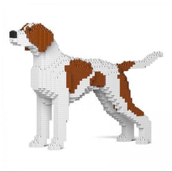 English Pointer Dog Sculptures - LAminifigs