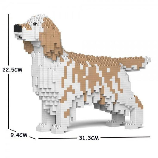 English Setter Dog Sculptures - LAminifigs