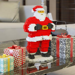Santa Claus and Snowman Building Kits - LAminifigs