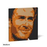 David Beckham Brick Paintings - LAminifigs