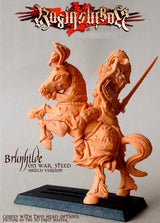 Brunhilde with Shield on War Steed - LAminifigs