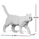 White Cats Sculptures - LAminifigs