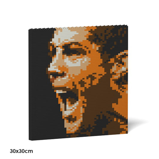 Cristiano Ronaldo Brick Paintings - LAminifigs