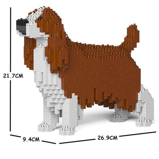 English Springer Spaniel Dog Sculptures - LAminifigs