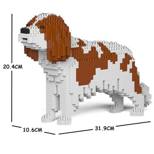 Cavalier King Charles Spaniel Dog Sculptures - LAminifigs