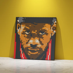 LeBron James Brick Paintings - LAminifigs