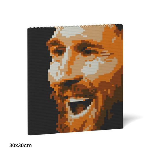 Lionel Messi Brick Paintings - LAminifigs