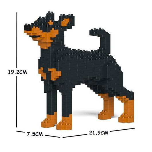 Miniature Pinscher Dog Sculptures - LAminifigs