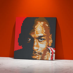 Michael Jordan Brick Paintings - LAminifigs