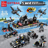 695 PCS 6 in 1 SWAT Truck - LAminifigs