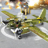 559 PCS WW2 Junkers Ju 88 Warplane - LAminifigs