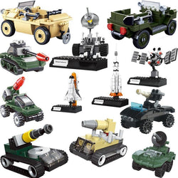 Military Vehicles, Satellite Rockets, Motorcycles
