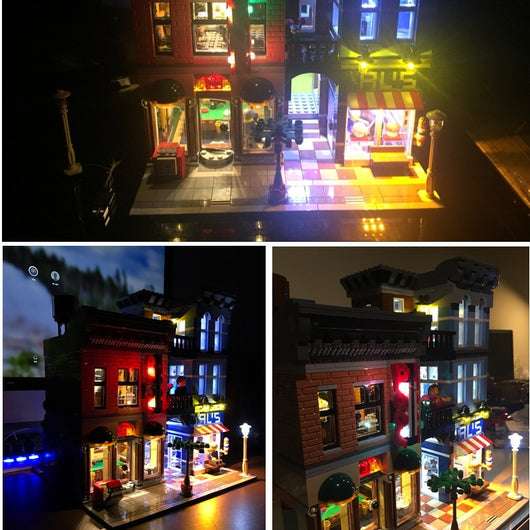 LED Light Kit For LEGO Detective's Office - LAminifigs