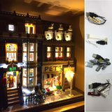 LED Light Kit For LEGO City Street Pet Shop - LAminifigs