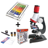 Toy Microscope Kit LED 100X-400X-1200X - LAminifigs
