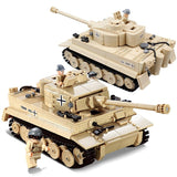 995 PCS Military German King Tiger Tank - LAminifigs