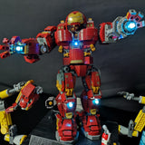 LED Light Kit For LEGO Iron Man Hulkbuster Set - LAminifigs