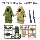 Ghillie Suits and Guns for Custom scenes - LAminifigs
