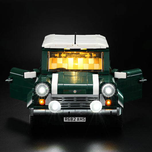 LED Light Kit For LEGO MINI Cooper - LAminifigs