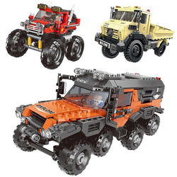 500+ PCS All Terrain Vehicle Sets - LAminifigs