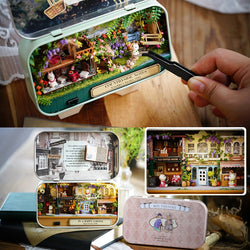 DIY Miniatures Wooden Dollhouse in a box - LAminifigs