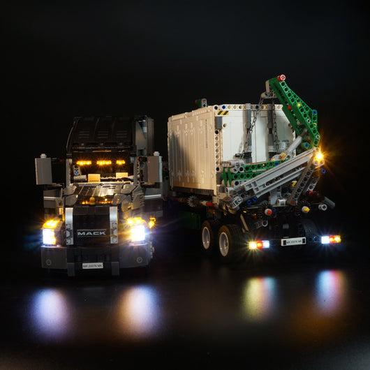 LED Light Kit For LEGO Technic the Mack Anthem Truck - LAminifigs