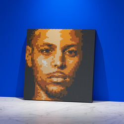 Stephen Curry Brick Paintings - LAminifigs