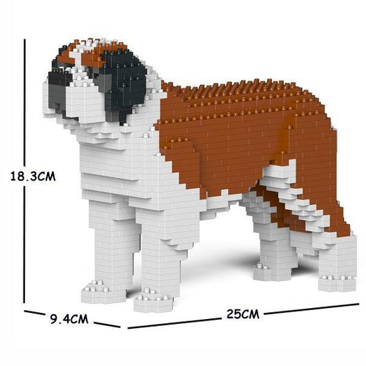 St. Bernard Dog Sculptures - LAminifigs